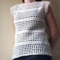 patternpiper open mesh jumper
