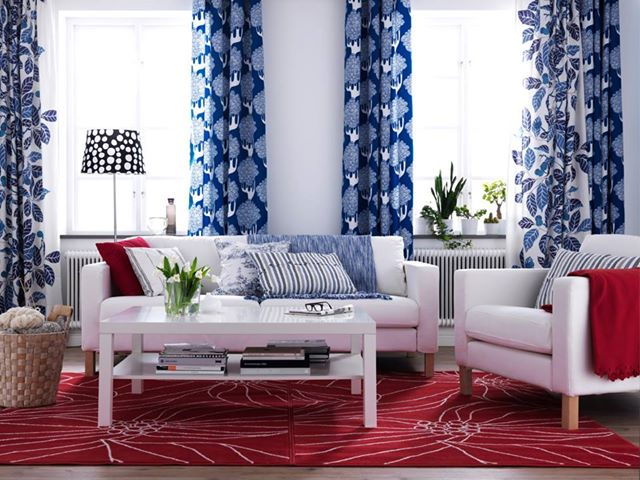 Red, White & Blue Decor