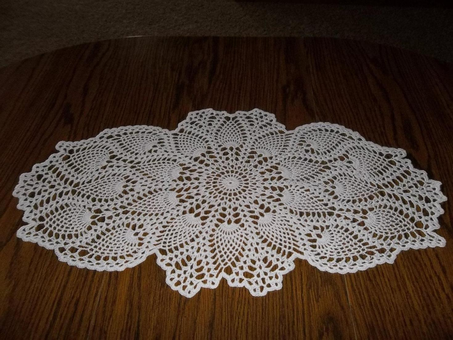 Free Crochet Table Topper Patterns