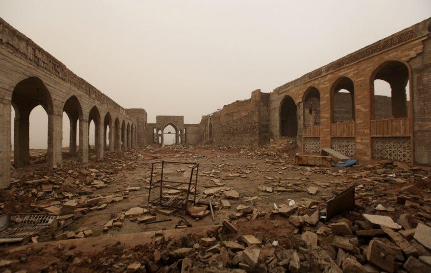 ISIS Demolition of Jonah Shrine Reveals Biblical King's Palace