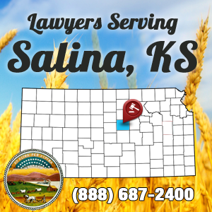 Salina Car Accident Lawyer Map