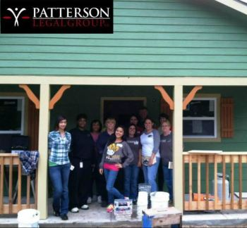 Patterson Legal Group Builds on Tradition of Community Service with Habitat for Humanity