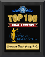 Top 100 Trial Lawyers award by the American Trial Lawyer Assocation