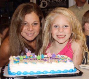 Emma and Tita at Tita's Birthday