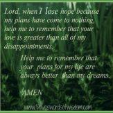 My Prayer