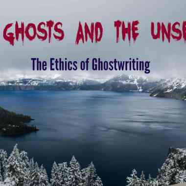 is ghostwriting ethical