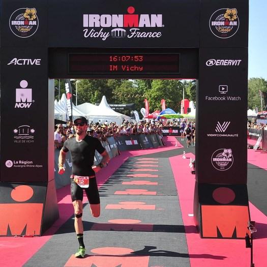 Ironman Vichy Zieleinlauf