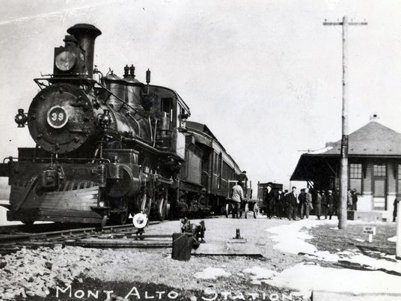 Mont Alto Train Image