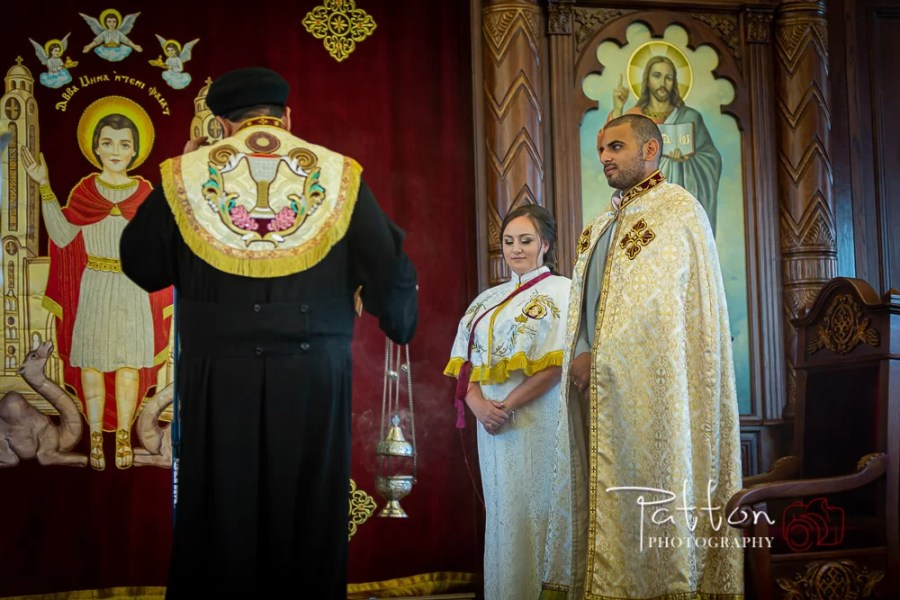 Ceremony of a Coptic Orthodox wedding