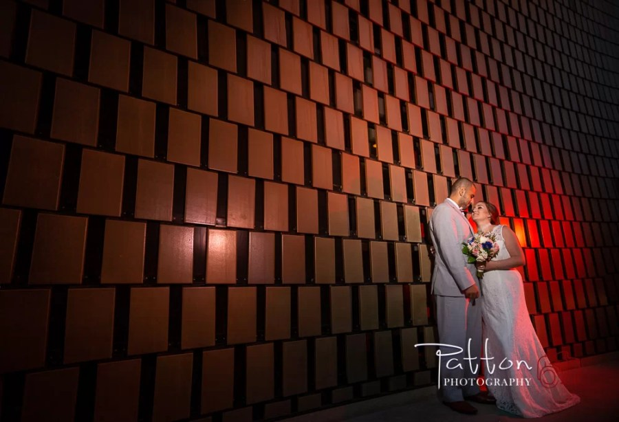 Wedding photos at National Music Center