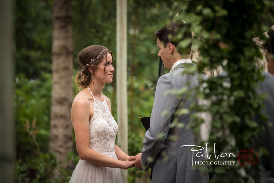 Calgary bride and groom at a Saskatoon Farm wedding