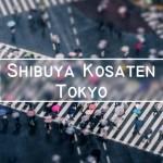 Skrzyżowanie Shibuya w Tokyo