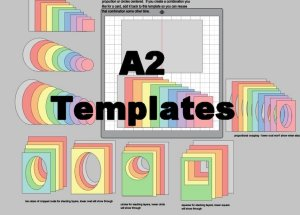 A2 card templates 30.459 wide