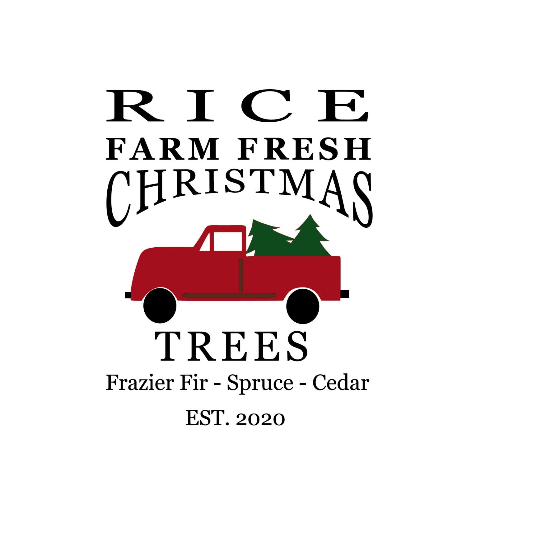 Rice Christmas Tree Farm