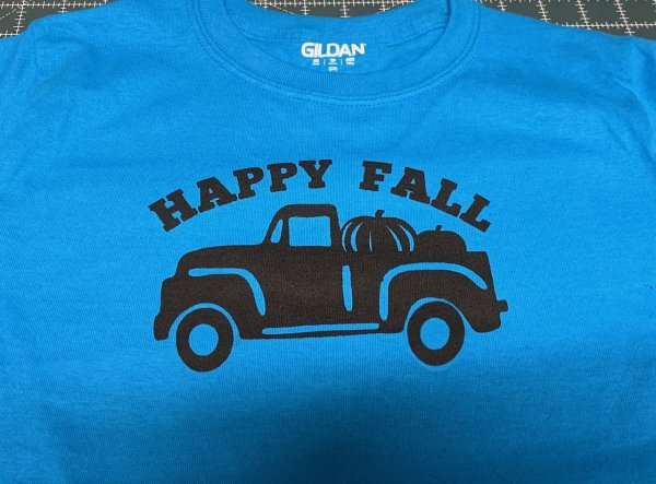 Silk Screen Class Fall Truck