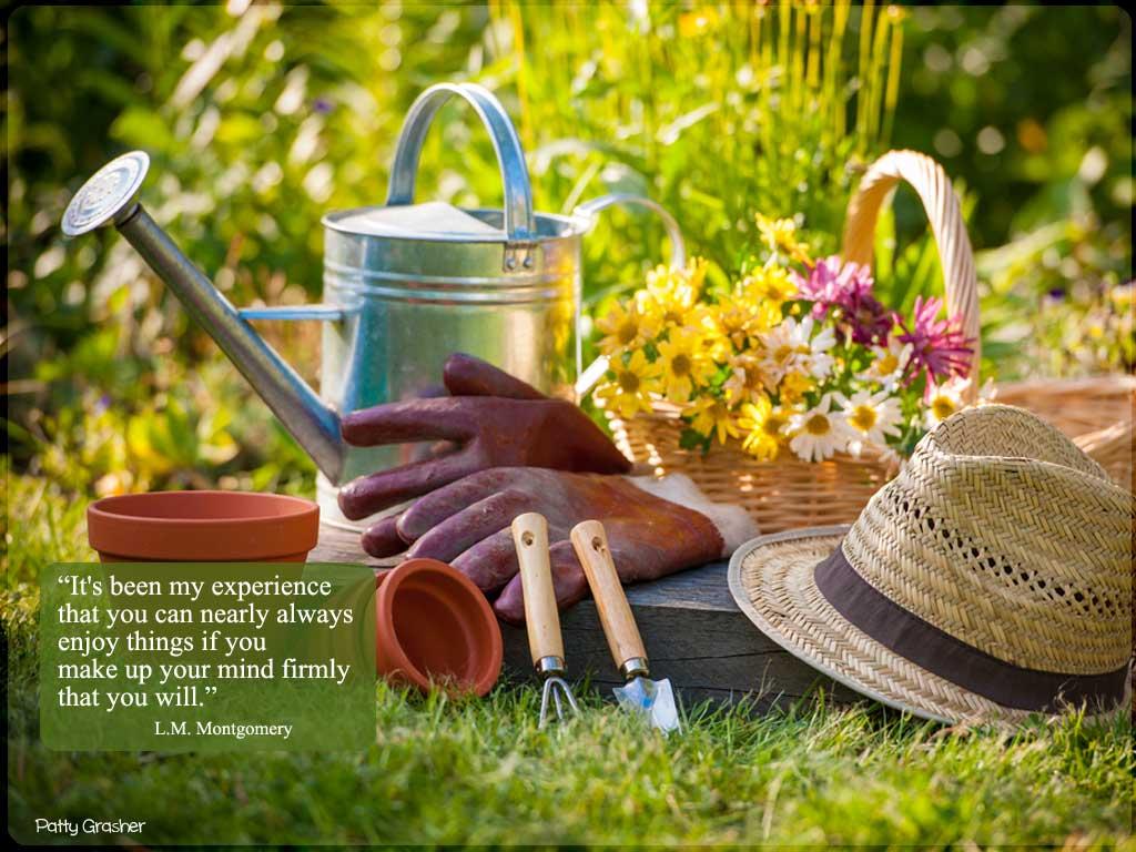 garden and garden tools