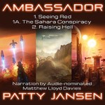 Ambassador Books 1, 1A and 2 Omnibus by Patty Jansen