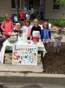 Lemonade Stand Yard Sale