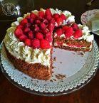 Torta cacao & lamponi