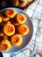 Biscotti di grano saraceno con marmellata di arance e cannella