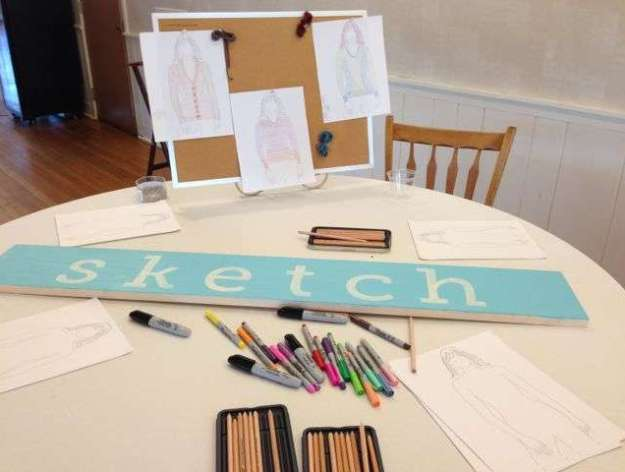 Sketch Inspiration Station