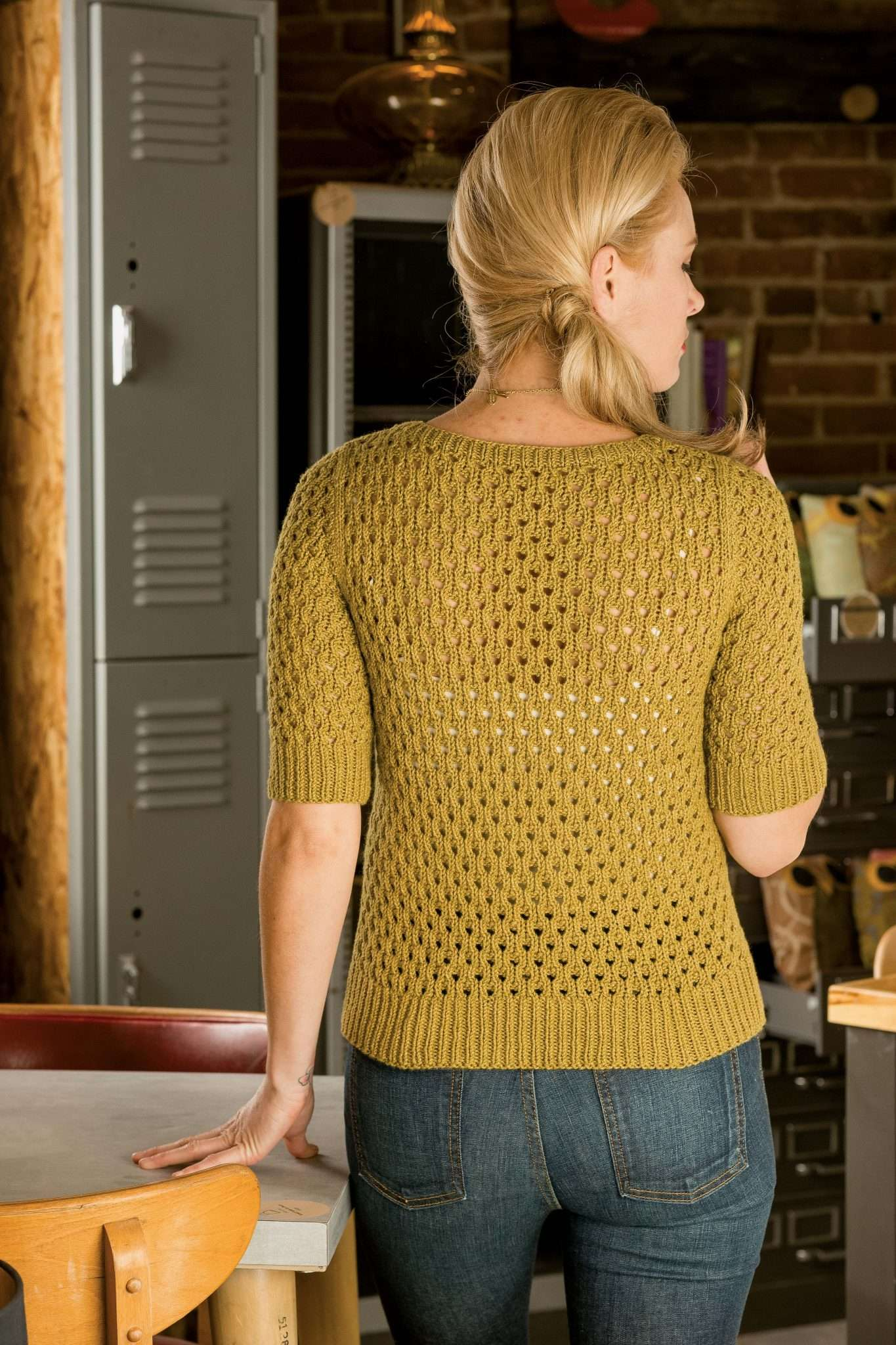 Corcoran Pullover - Interweave Knits Spring 2015 Spring Knitting Patterns