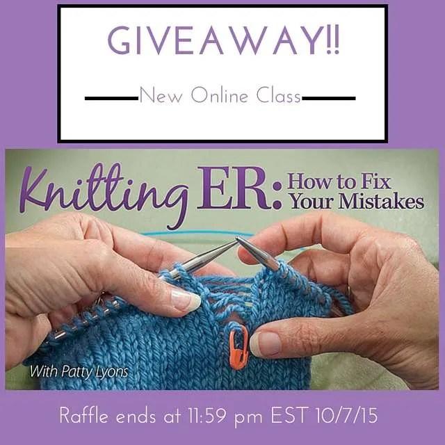Knitting ER Giveaway