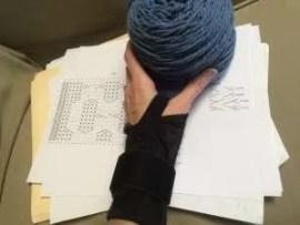 Knitting Designer Blog - Diverging Paths Pullover