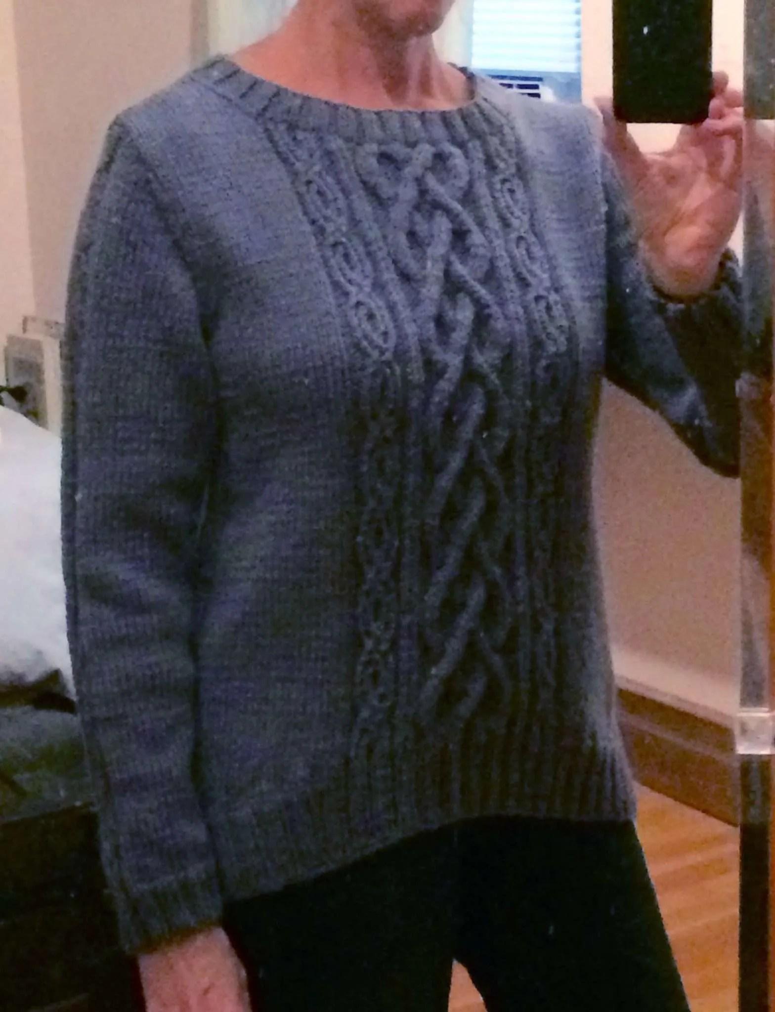 Knitting Designers Blog: Diverging Paths Pullover