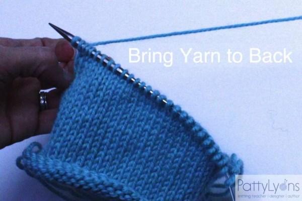 1 pull yarn behind