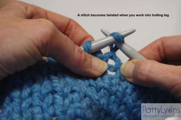 How to Avoid Twisting a Stitch