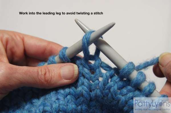 How to Avoid Twisted Stitches