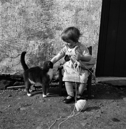Photograph by J. Peterson, ca. 1939, Shetland Museum and Archives.