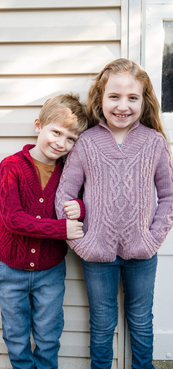 Affiknity Jr Video Sweater Class KAL