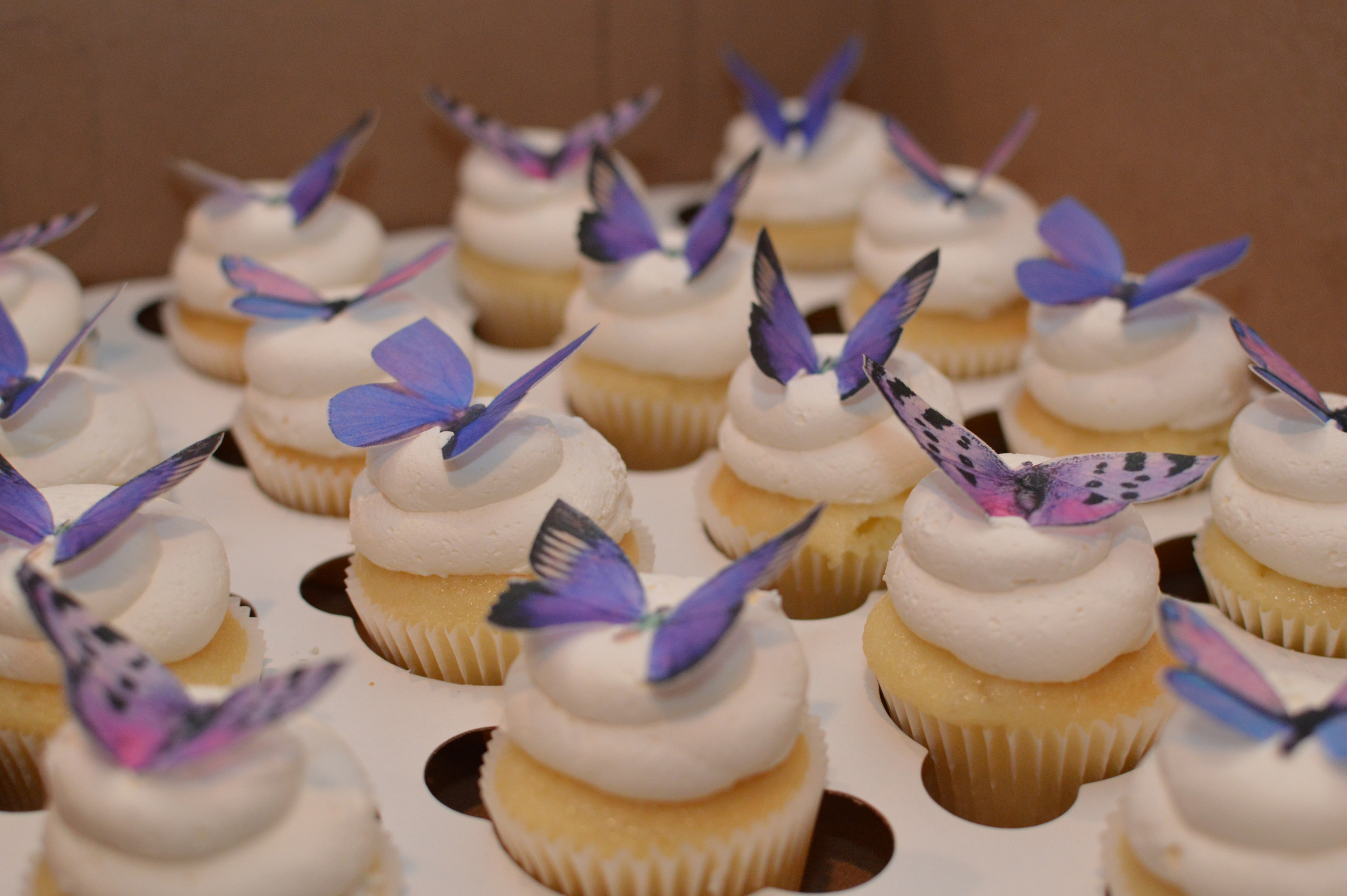 Amazing And Wonderful Fairy Birthday Cake And Cupcakes For