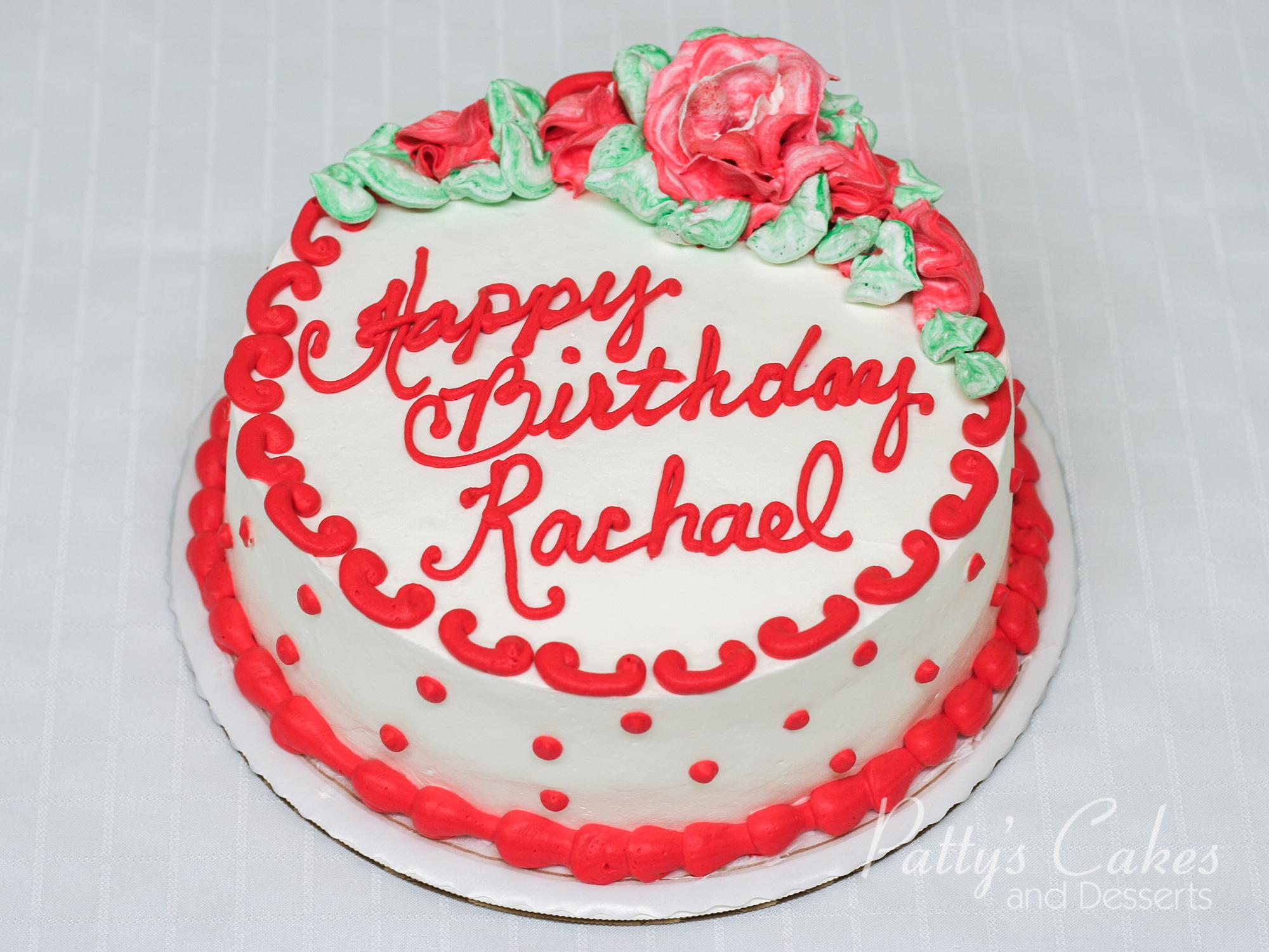 Green And White Birthday Cake Designs