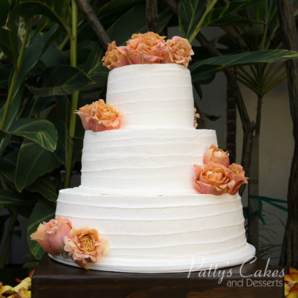 Simple  elegant  and affordable wedding cake   Patty s Cakes and     My Cake was 3 tiers and all lemon  I also ordered sheet cakes for my guest   I just loved it  Even my guest loved it  The price is affordable
