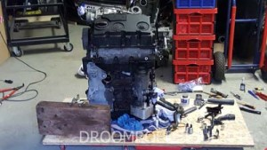 The new motor block