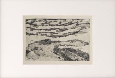 Pejzaz-Sahara-tinta-M.S.Goralski-2007-in-12:8cm