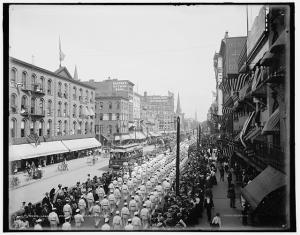 Labor Day parade 1900-Library of Congress