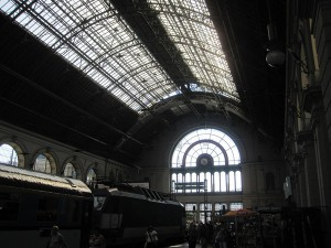 Budapest train station