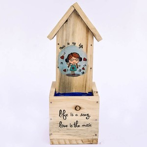 Bird House Front Planters