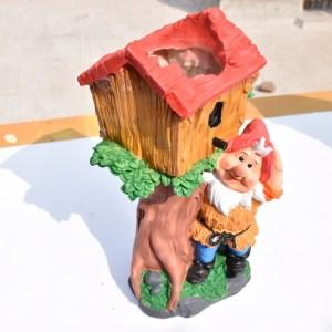 Bird House Dwarf Planter