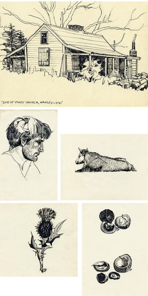 sylvia plath drawings on paukf dibujos ilustraciones illustration