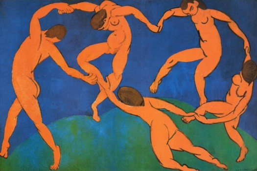la danza de matisse en paukf