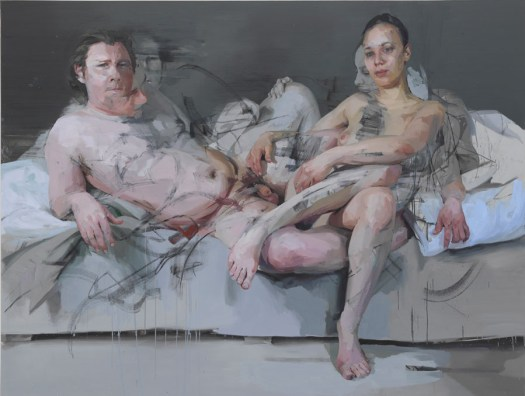 Intertwine Jenny Saville Gagosian Gallery paukf art expressionism expresionismo arte