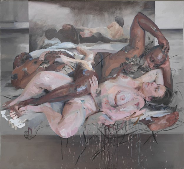 Odalisque Jenny Saville Gagosian Gallery paukf art expressionism expresionismo arte