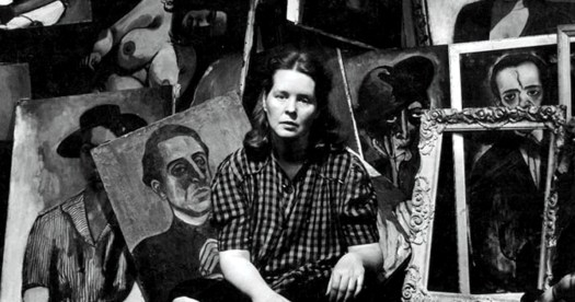ALICE NEEL pintora painter on paukf women i admire womeniadmire paula teruel pintura retrato portrait