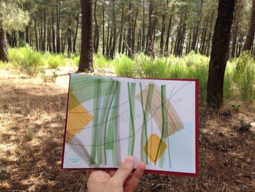 haikugraphic paukf paisajes de la memoria toledo pinos arte art expresionismo expresionism