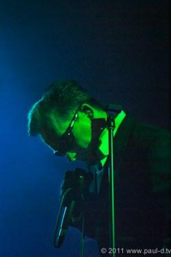 Dave Vanian, The Damned, Rebellion 2011, Lightroom 2012 Process